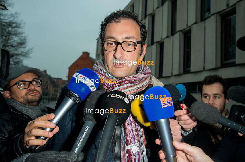 """Procès dit du """"Carlton de Lille"""" en présence de Dominique Strass-Khan. France, Lille, le 10 février 2015"""