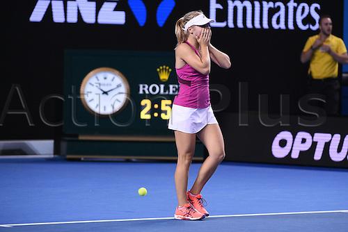 22.01.2016. Melbourne Park, Melbourne, Australia, Australian Open Tennis Championships.  Roger Federer (SUI)