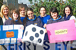 The YSI group at St Brigid's secondary school are looking at the issue of poverty for their Social Innovators Project. .Back L-R Kerrie McCarthy (TYI co-ordinator), Renata Dojnikowska, Inma Ojeva and Mairead McElligott teacher. .Front L-R Olivia Dawson, Martha Quirke and Sinead Nagle.
