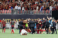 ATLANTA, Georgia - August 27:  during the 2019 U.S. Open Cup Final between Atlanta United and Minnesota United at Mercedes-Benz Stadium on August 27, 2019 in Atlanta, Georgia.