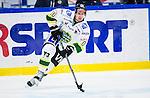 S&ouml;dert&auml;lje 2014-09-22 Ishockey Hockeyallsvenskan S&ouml;dert&auml;lje SK - IF Bj&ouml;rkl&ouml;ven :  <br /> Bj&ouml;rkl&ouml;vens Mathias Trygg i aktion <br /> (Foto: Kenta J&ouml;nsson) Nyckelord: Axa Sports Center Hockey Ishockey S&ouml;dert&auml;lje SK SSK Bj&ouml;rkl&ouml;ven L&ouml;ven IFB  portr&auml;tt portrait