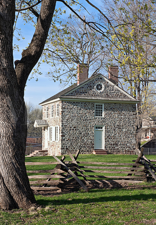General Washington's Headquarters, Valley Forge, Pennsylvania, USA