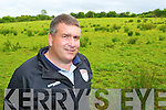 County Board Chairman Patrick O'Sullivan on the 48 acres of land in Currans the County Board has purchased for the future development of Kerry GAA on Tuesday