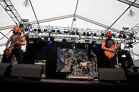 Baroness performing at the Soundwave Festival, Melbourne Show Ground, 26 February 2010