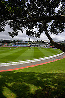 A general view on day one of the Plunket Shield cricket match between the Wellington Firebirds and Otago Volts at Basin Reserve in Wellington, New Zealand on Monday, 21 October 2019. Photo: Dave Lintott / lintottphoto.co.nz