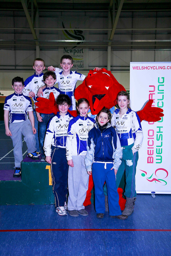 ..Icebreaker Rd 1 2011 - Welsh Cycling Union - Newport Velodrome - Credit IJC Sports