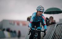 Denise Betsema (NED/Marlux-Bingoal)<br /> <br /> Superprestige cyclocross Hoogstraten 2019 (BEL)<br /> Women's Race<br /> <br /> &copy;kramon