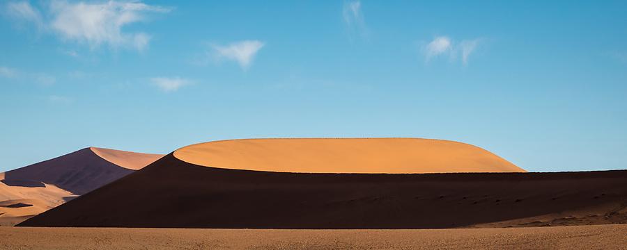 A Dune In The Deadvlei Area, Sossuvlei.