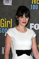 Zooey Deschanel<br /> at the &quot;New Girl&quot; 100th Episode Party, W Hotel, Westwood, CA 03-02-16<br /> David Edwards/DailyCeleb.Com 818-249-4998