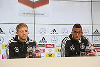 29.05.2014: Pressekonferenz der Nationalmannschaft