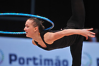 Anna Rizatdinova of Ukraine performs in training at 2011 World Cup at Portimao, Portugal on April 27, 2011.  (Photo by Tom Theobald).