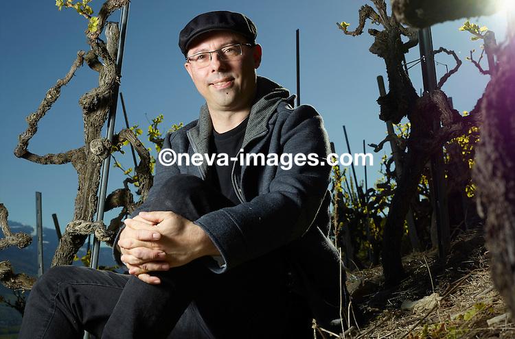 Sion, le 19 avril 2016,  José Vouillamoz, spécialise du vin  © sedrik nemeth