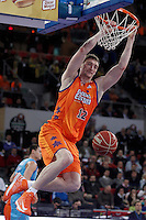 Valencia Basket Club's Serhiy Lishchuk during Spanish Basketball King's Cup match.February 07,2013. (ALTERPHOTOS/Acero) /NortePhoto