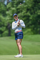 Morgan Pressel (USA) watches her putt on 12 during round 2 of the 2018 KPMG Women's PGA Championship, Kemper Lakes Golf Club, at Kildeer, Illinois, USA. 6/29/2018.<br /> Picture: Golffile | Ken Murray<br /> <br /> All photo usage must carry mandatory copyright credit (&copy; Golffile | Ken Murray)