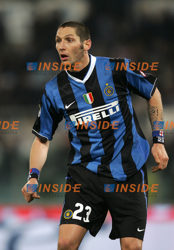 Marco Materazzi (Inter) <br /> Italian &quot;Serie A&quot; 2006-07 <br /> 20 December 2006 (Match Day 17) <br /> Lazio-Inter (0-2) <br /> &quot;Olimpico&quot; Stadium-Roma-Italy <br /> Photographer Andrea Staccioli INSIDE