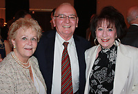 NWA Democrat-Gazette/CARIN SCHOPPMEYER Ann and Morriss Henry (from left) and Billie Starr enjoy the Symphony of Northwest Arkansas' Spring Gala  on April 25 at Mermaids Fayetteville.