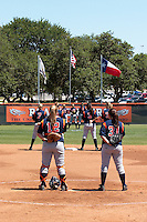 SAN ANTONIO, TX - APRIL 30, 2006: The University of Texas at Arlington Mavericks vs. The University of Texas at San Antonio Roadrunners Softball at Roadrunner Field. (Photo by Jeff Huehn)