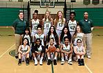 11-29-18, Huron High School girl's junior varsity basketball team