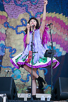 AUSTIN, TX - OCTOBER 14: KImbra performs at the 2012 Austin City Limits Music Festival in Austin, Texas. October 14, 2012. © Joe Gall/MediaPunch Inc. /NortePhotoAgency