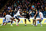 London Wasps' Ashley Johnson makes the initial break for London Wasps' Sailosi Tagicakibau's try - Rugby Union - 2014 / 2015 Aviva Premiership - Wasps vs. Bath - Adams Park Stadium - London - 11/10/2014 - Pic Charlie Forgham-Bailey/Sportimage