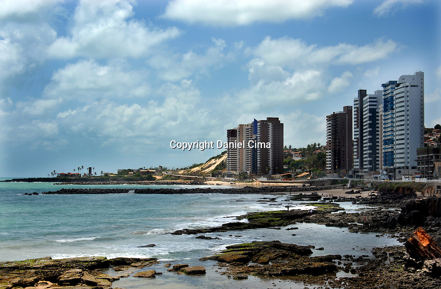 view of Natal water front.Brazil