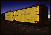 3/4 view refrigerator car D&amp;RGW #163<br /> D&amp;RGW