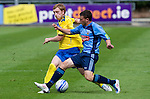 UCD v St Johnstone...10.07.11  Pre-season Friendly.Liam Craig and Sean Harding.Picture by Graeme Hart..Copyright Perthshire Picture Agency.Tel: 01738 623350  Mobile: 07990 594431