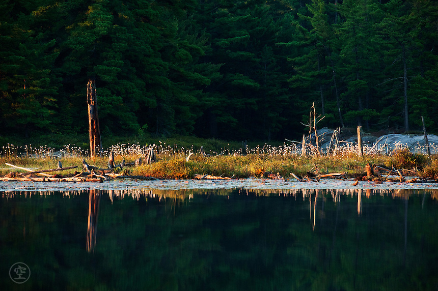 Morning Reflection, Northern Lake, Killarney Provincial Park, Ontario, Canada
