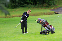 Adam Doran (Ardee) on the 2nd during round 1 of The Mullingar Scratch Cup in Mullingar Golf Club on Sunday 3rd August 2014.<br /> Picture:  Thos Caffrey / www.golffile.ie