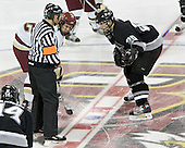 Dan Bertram, Chase Watson  The Boston College Eagles defeated the Providence College Friars 3-2 in regulation on October 29, 2005 at Kelley Rink in Conte Forum in Chestnut Hill, MA.  It was BC's first Hockey East win of the season and Providence's first HE loss.