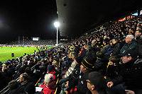 A general view of the Rugby Championship match between the NZ All Blacks and Argentina Pumas at Yarrow Stadium in New Plymouth, New Zealand on Saturday, 9 September 2017. Photo: Dave Lintott / lintottphoto.co.nz