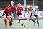 UTRECHT - Pam Imhof (Kampong)  tijdens de hockey hoofdklasse competitiewedstrijd dames:  Kampong-Laren . COPYRIGHT KOEN SUYK