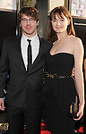 HOLLYWOOD, CA - JUNE 20: John Gallagher Jr. and Emily Mortimer  arrive at the Los Angeles premiere of HBO's 'The Newsroom' at ArcLight Cinemas Cinerama Dome on June 20, 2012 in Hollywood, California.