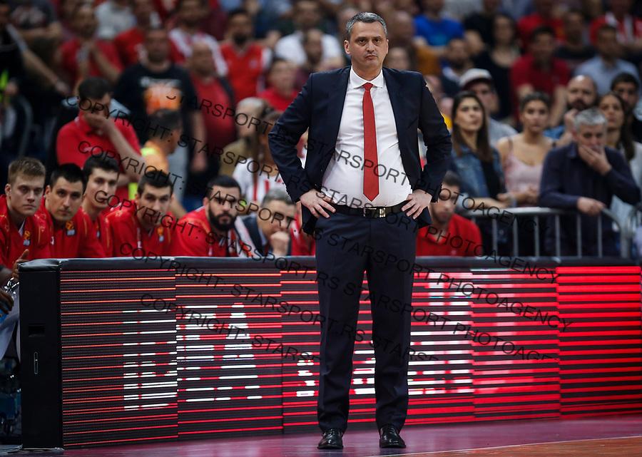 Kosarka Euroleague season 2016-2017<br /> Crvena Zvezda v Olympiacos (Athens)<br /> head coach Dejan Radonjic<br /> Beograd, 22.03.2017.<br /> foto: Srdjan Stevanovic/Starsportphoto &copy;