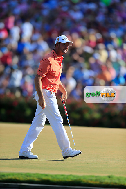 Alex Cejka (GER) during the final round of the Players, TPC Sawgrass, Championship Way, Ponte Vedra Beach, FL 32082, USA. 15/05/2016.<br /> Picture: Golffile   Fran Caffrey<br /> <br /> <br /> All photo usage must carry mandatory copyright credit (&copy; Golffile   Fran Caffrey)