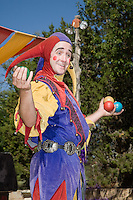 The Renaissance Fair is held each September at the historic museum of El Rancho de Las Golondrinas near Santa Fe and features dancers, knights, acrobats and many other performers all celebrating aspects of Medieval culture and the life style of the Middle Ages. Clan Tynker is a family troupe that performs magic, acrobatic routines, juggling and other feats to entertain the crowd. Jugler and acrobat Elijah Whippo is the leader of Clan Tynker.