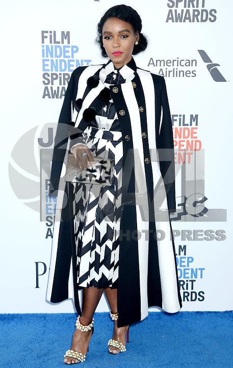 SANTA MONICA, 25.02.20-17 - SPIRIT-AWARDS -  Naomie Harris durante Film Independent Spirit Awards em Santa Monica na California nos Estados Unidos (Foto: Gilbert Flores/Brazil Photo Press)
