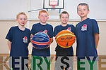 Attending the Gneeveguilla Basketball Camp last week were: <br /> L-R Mark Cronin, Paudie Murphy, Damien Cronin and Daniel Collins.