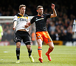 Jay O'Shea of Sheffield Utd in action during the English League One match at Vale Park Stadium, Port Vale. Picture date: April 14th 2017. Pic credit should read: Simon Bellis/Sportimage