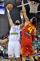 2014 FIBA BASKETBALL WORLD CUP. Serbia vs Spain; FERNANDEZ, Rudy