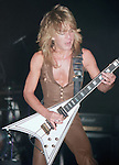 Randy Rhoads of Ozzy Osbourne's Blizzard of Oz performing live at Nassau Coliseum, N.Y. Aug 1981 Randy Rhoads