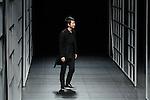 Yasutoshi Ezumi, Mar 21, 2014 : DHL Designer Award winning Japanese designer Yasutoshi Ezumi. Autumn Winter 2014-15. Mercedes Benz Fashion Week Tokyo.