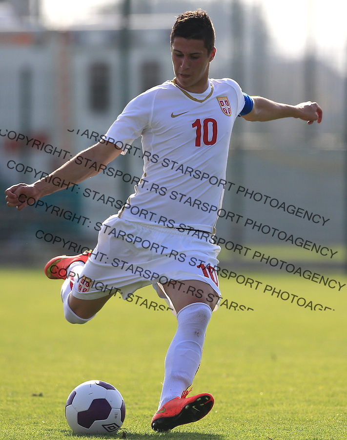 Fudbal Soccer-Evropsko prvenstvo 2015  U19-kvalifikaciona runda-Grupa 9<br /> Srbija U19 v Jermenija U19<br /> Danilo Pantic<br /> Beograd, 12.09.2014.<br /> foto: Srdjan Stevanovic/Starsportphoto &copy;