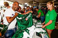 GRONINGEN - Voetbal, Opendag FC Groningen, seizoen 2018-2019, 05-08-2018,  fanartikelen in alle soorten en maten
