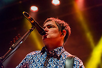 SÃO PAULO, SP, 01.09.2018 - SHOW-SP - Samuel Rosa, cantor e guitarrista da banda Skank durante show na noite deste sábado, 01, no Credicard Hall em São Paulo. (Foto: Anderson Lira\Brazil Photo Press)