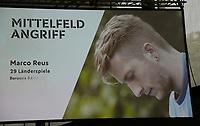 Marco Reus (Borussia Dortmund) ist für den WM Kader nominiert - 15.05.2018: Vorläufige WM-Kaderbekanntgabe, Deutsches Fußballmuseum Dortmund