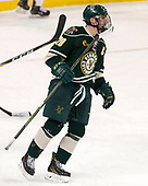 Brendan Bradley (UVM - 20) - The Boston College Eagles defeated the University of Vermont Catamounts 7-4 on Saturday, March 11, 2017, at Kelley Rink to sweep their Hockey East quarterfinal series.The Boston College Eagles defeated the University of Vermont Catamounts 7-4 on Saturday, March 11, 2017, at Kelley Rink to sweep their Hockey East quarterfinal series.