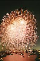 Fireworks, July 4, Boston, MA