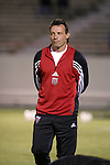 24 March 2004: DC United head coach Peter Nowak. DC United of Major League Soccer defeated the Wilmington Hammerheads of the Pro Select League 1-0 at the Legion Sports Complex in Wilmington, NC in a Carolina Challenge Cup match..