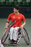 Shingo Kunieda, MARCH 4, 2013 : IOC Evaluation Commission visit at Ariake Coliseum, Tokyo, Japan. (Photo by AFLO SPORT)
